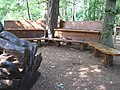 Outdoor classroom, Stover Country Park - geograph.org.uk - 1371796.jpg