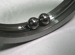 Race (bearing) track in a bearing along which the rolling elements ride