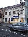 Overview of cultural monument Karlovo náměstí 46 in Třebíč, Třebíč District.jpg