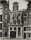 overzicht gevel grachtenhuis - amsterdam - 20322154 - rce