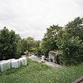 Overzicht van de schutsluis met de groene omgeving - Gouda - 20387978 - RCE.jpg