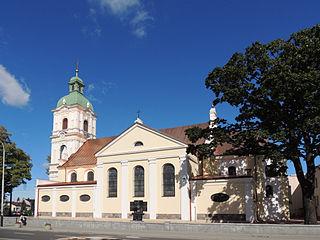 Ozorków Place in Łódź Voivodeship, Poland