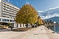 Pörtschach Johannes-Brahms-Promenade mit Parkhotel 05112017 1918.jpg