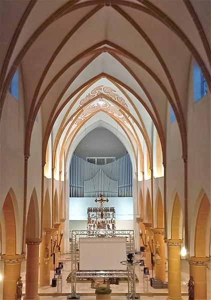 Datei:Püttlingen, Liebfrauenkirche (Haerpfer-Orgel, Prospekt) (13).jpg