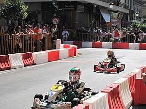 Kart circuit - Temporary circuit in the streets of Patras