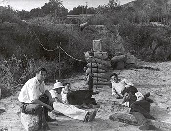 Seated left to right: Rudolph Schott, Apollo M...