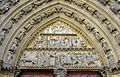 P1240889 Paris IV Notre-Dame portail du cloitre tympan rwk.jpg