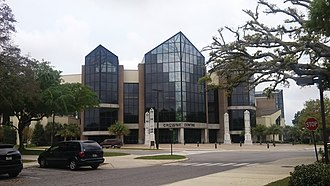 Pensacola Christian College - The Crowne Center, which serves as an auditorium and campus church, was built in 2001