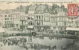 Battle of St. Quentin (1871) - Prussian forces in St. Quentin, 1871