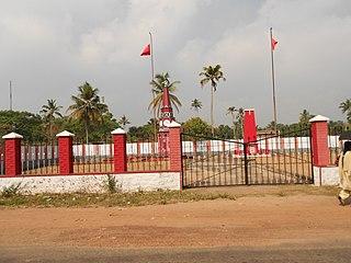 Vayalar village in Kerala, India