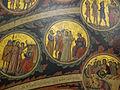 Pacino di bonaguida, albero della vita, 1310-15, da monticelli, fi 12 cristo davanti a pilato e s. pietro.JPG