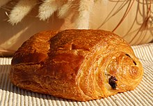 Pain au chocolat is a type of viennoiserie.