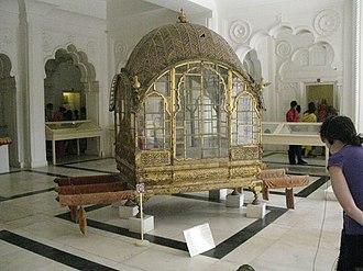 Mehrangarh - Mahadol, the Palanquin at Mehrangarh Museum