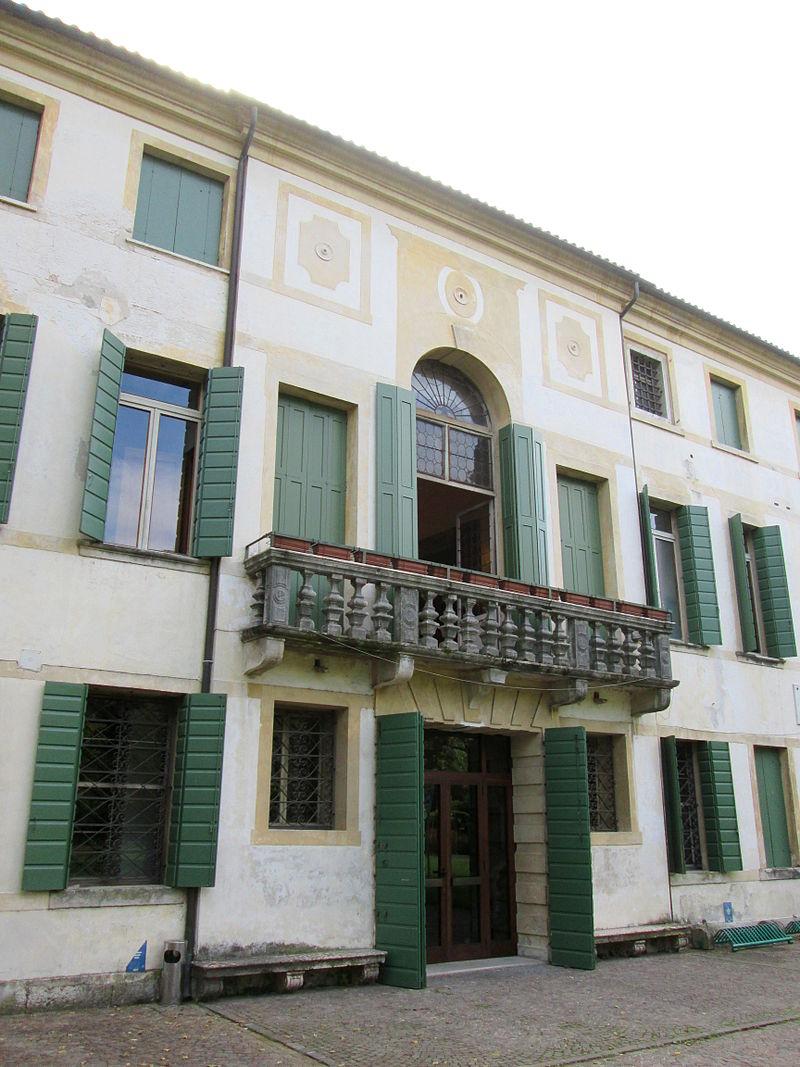 Palazzo Ca' Diedo facciata interna