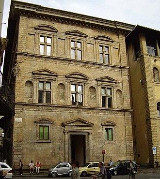 Baccio D'Agnolo - Palazzo Bartolini Salimbeni in Piazza Santa Trinita Florence