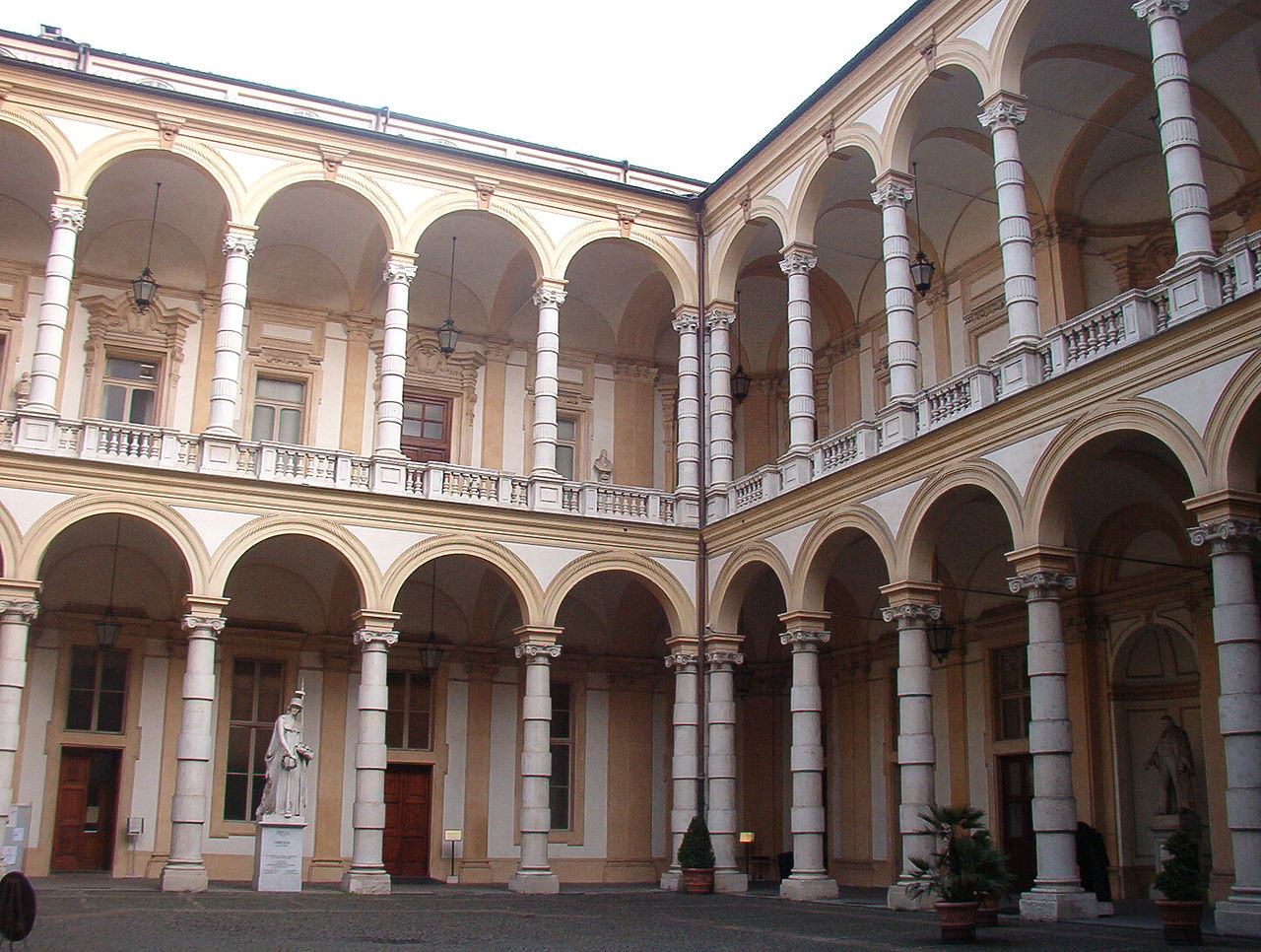 The Rectorate courtyard