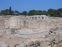 Paleochristian Basilica - Empúries - 2005-03-27.JPG