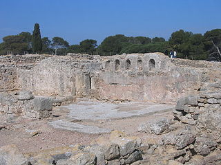 ancient Greek colony on  coast of the Catalonia
