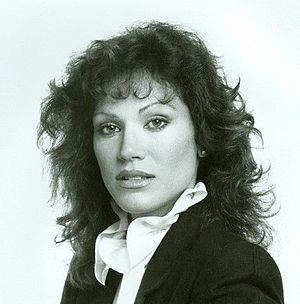 Pamela Hensley - Hensley in a promotional photograph for Matt Houston, 1982