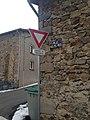 Panneau AB3a moderne à la Rue des Prêtres, Craponne-sur-Arzon (43).jpg
