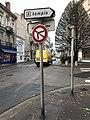 Panneau indicateur du temple protestant à Bourg-en-Bresse (Ain, France).JPG