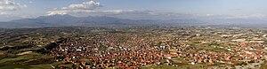 Orahovac - Panorama of Orahovac
