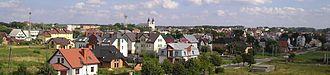 Garwolin - Image: Panorama Garwolina