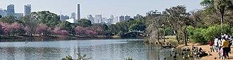 Ibirapuera Park - Image: Panorama Ibirapuera