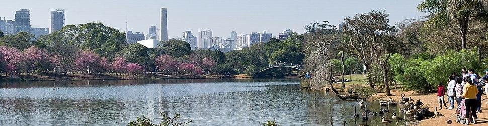 Ibirapuera Park panorama