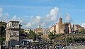 Panorama of Rome with Arch of Costantine,Via Sacra.jpg