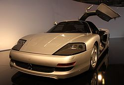 Paris - Mondial de l'automobile 2010 - Mercedes C 112 - 001.JPG