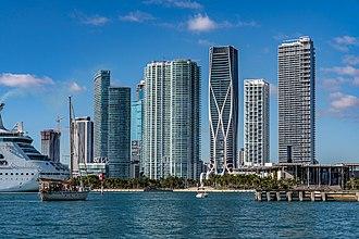 Park West (Miami) - Image: Park West in Downtown Miami