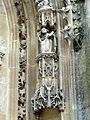 Parnes (60), église Saint-Josse, statuettes du portail 3.jpg