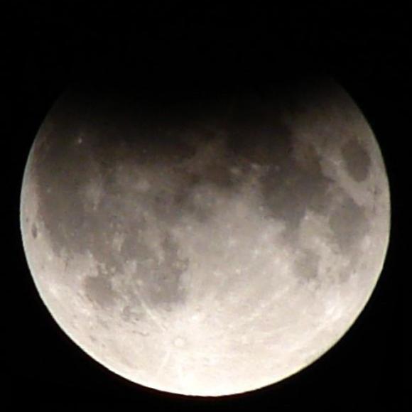 Partial lunar eclipse Sept 7 2006-Mikelens