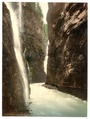 Partnachklamm, general view, Upper Bavaria, Germany-LCCN2002696279.tif