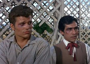 Perry Lopez - Lopez (right) in McLintock!