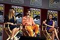 Patty Jenkins, Chris Pine & Gal Gadot (43043448934).jpg