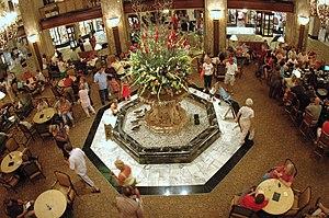 Peabody Hotel - Inside the Peabody in 2006