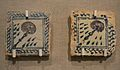 Peces ceràmiques amb salpassers, segle XV, museu Marià de València.JPG
