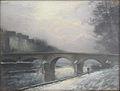 Pelletier P.J. - Pastel - Paris, le pont Marie l'hiver - 47x62cm.jpg