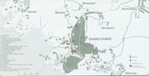 Chake-Chake - City map of Chake-Chake (Pemba)