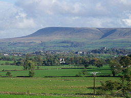 none  Pendle Hill og Ribble Valley i Lancashire