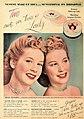 Penny Edwards - Jergens Twin Make-up, 1945.jpg