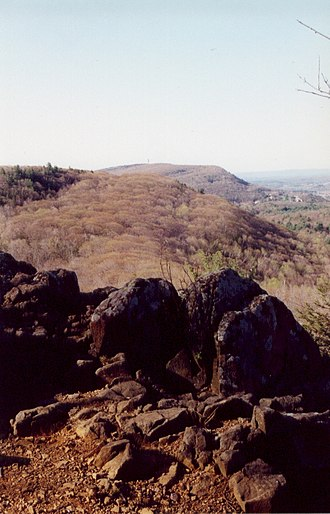 Simsbury, Connecticut - Talcott Mountain ridgeline