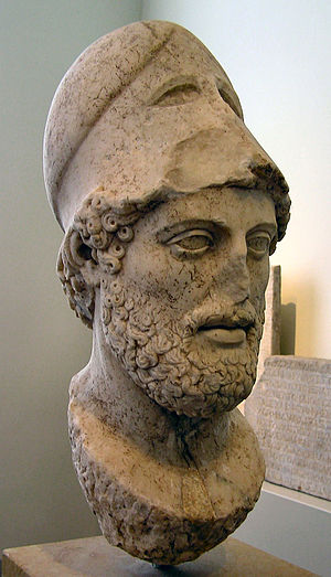 Pericles - Bust of Pericles after Kresilas, Altes Museum, Berlin