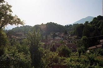 Pescorocchiano - View of Torre di Taglio, a frazione of Pescorocchiano.