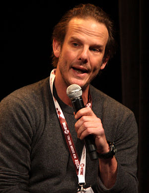 Peter Berg - Berg speaking at Wondercon in March 2012