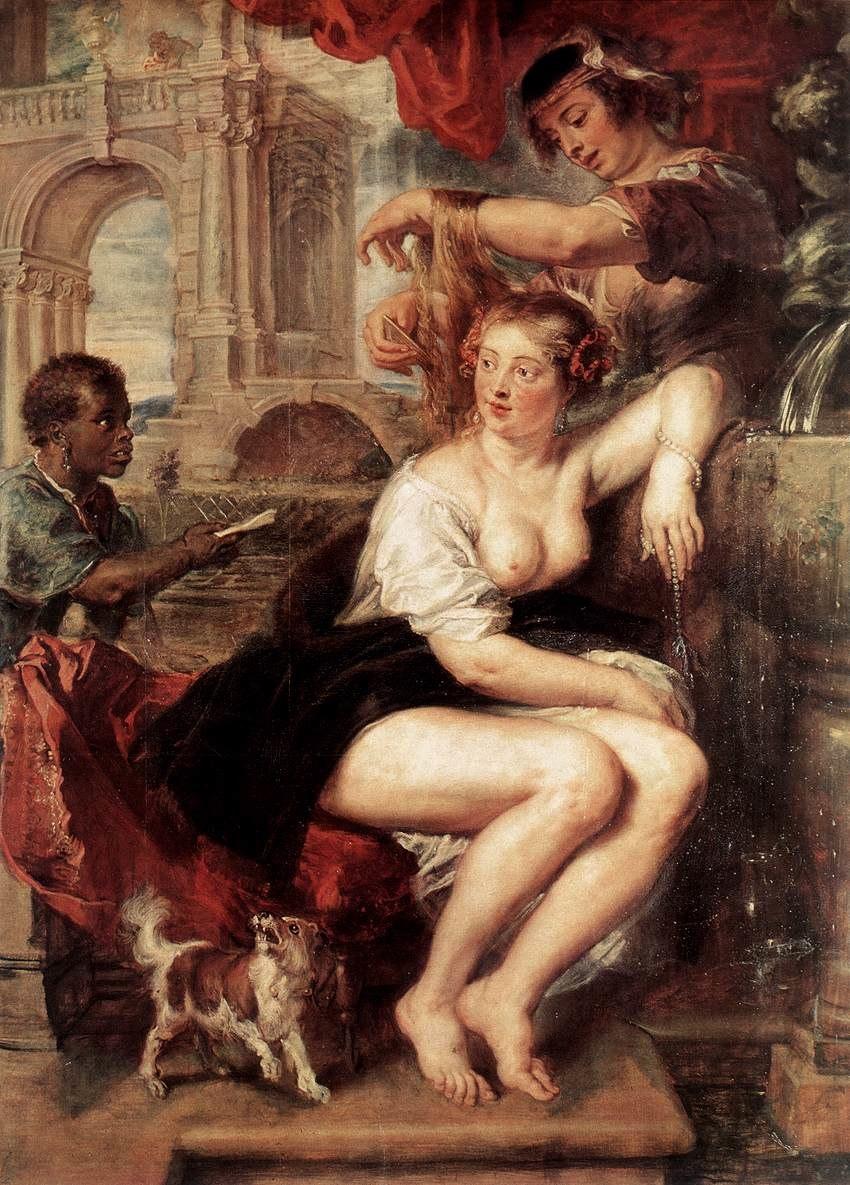 Peter Paul Rubens - Bathsheba at the Fountain - WGA20270