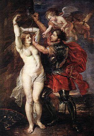 Perseus and Andromeda (Rubens) - Image: Peter Paul Rubens Perseus Liberating Andromeda WGA20324