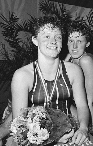 Petra van Staveren - Petra van Staveren in 1984